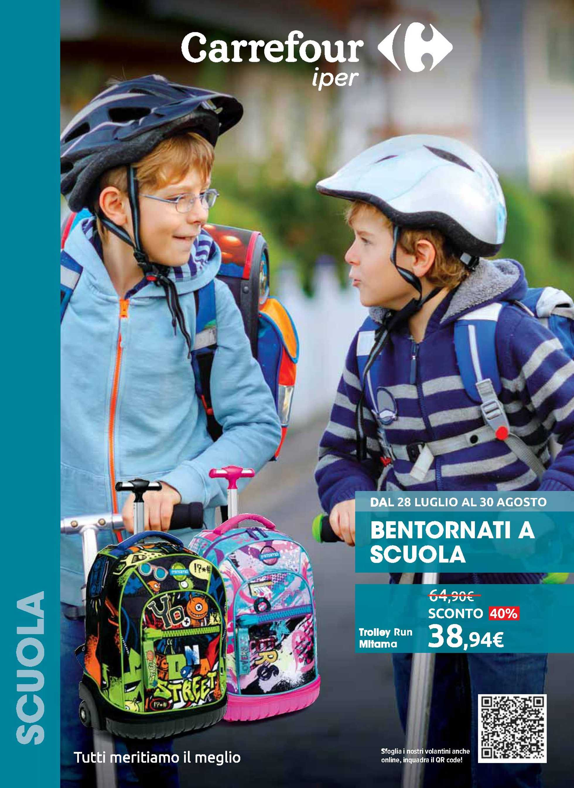Carrefour Iper - offerte valide dal 28.07.2020 al 30.08.2020 - pagina 1.