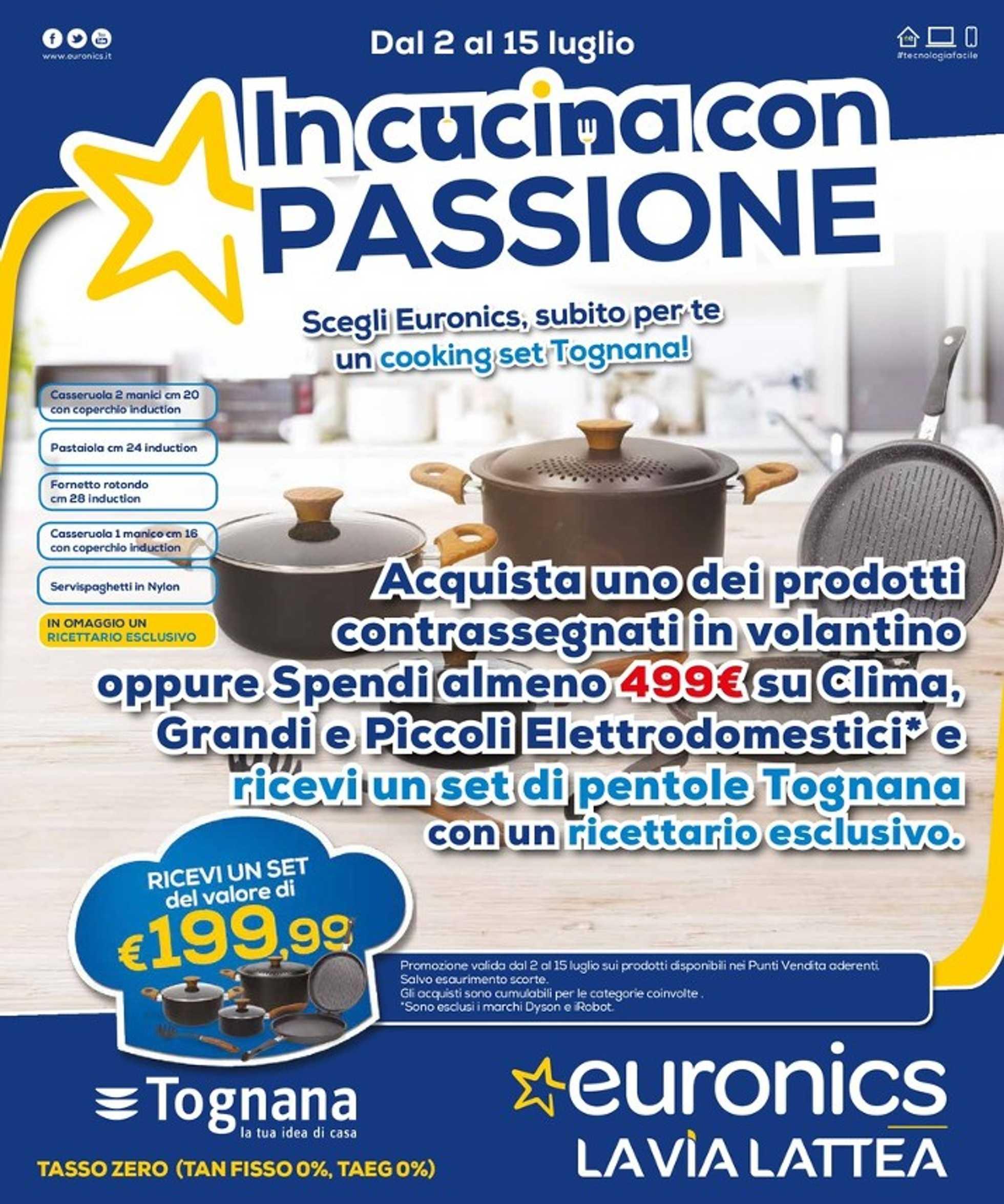Euronics - offerte valide dal 02.07.2020 al 15.07.2020 - pagina 1.