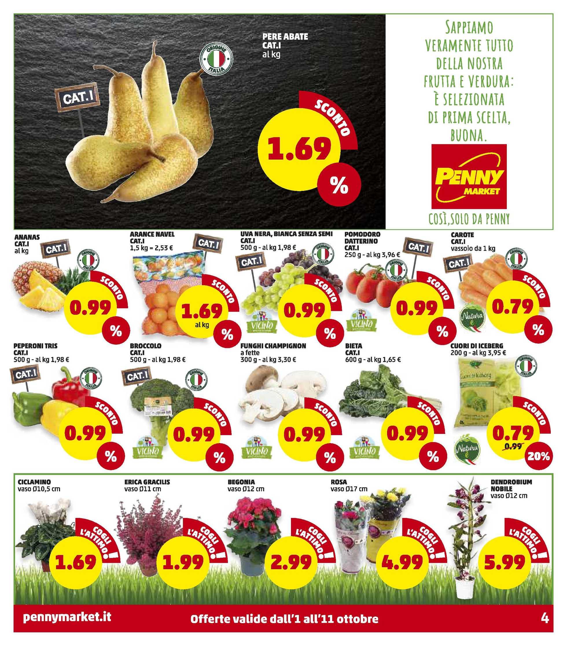 Penny Market - offerte valide dal 01.10.2020 al 11.10.2020 - pagina 4.