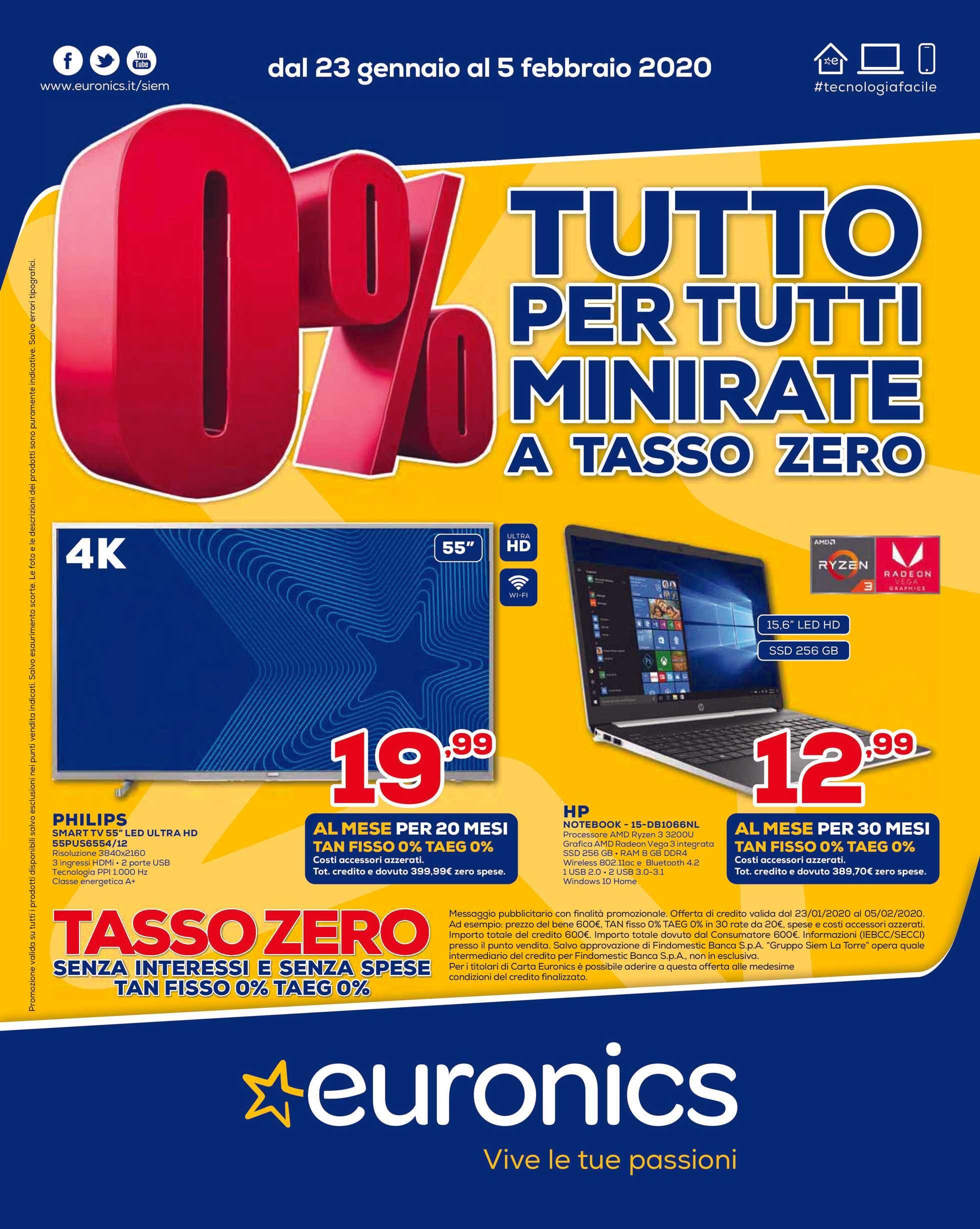 Volantino Euronics   Le ultime offerte   it.promotons.com