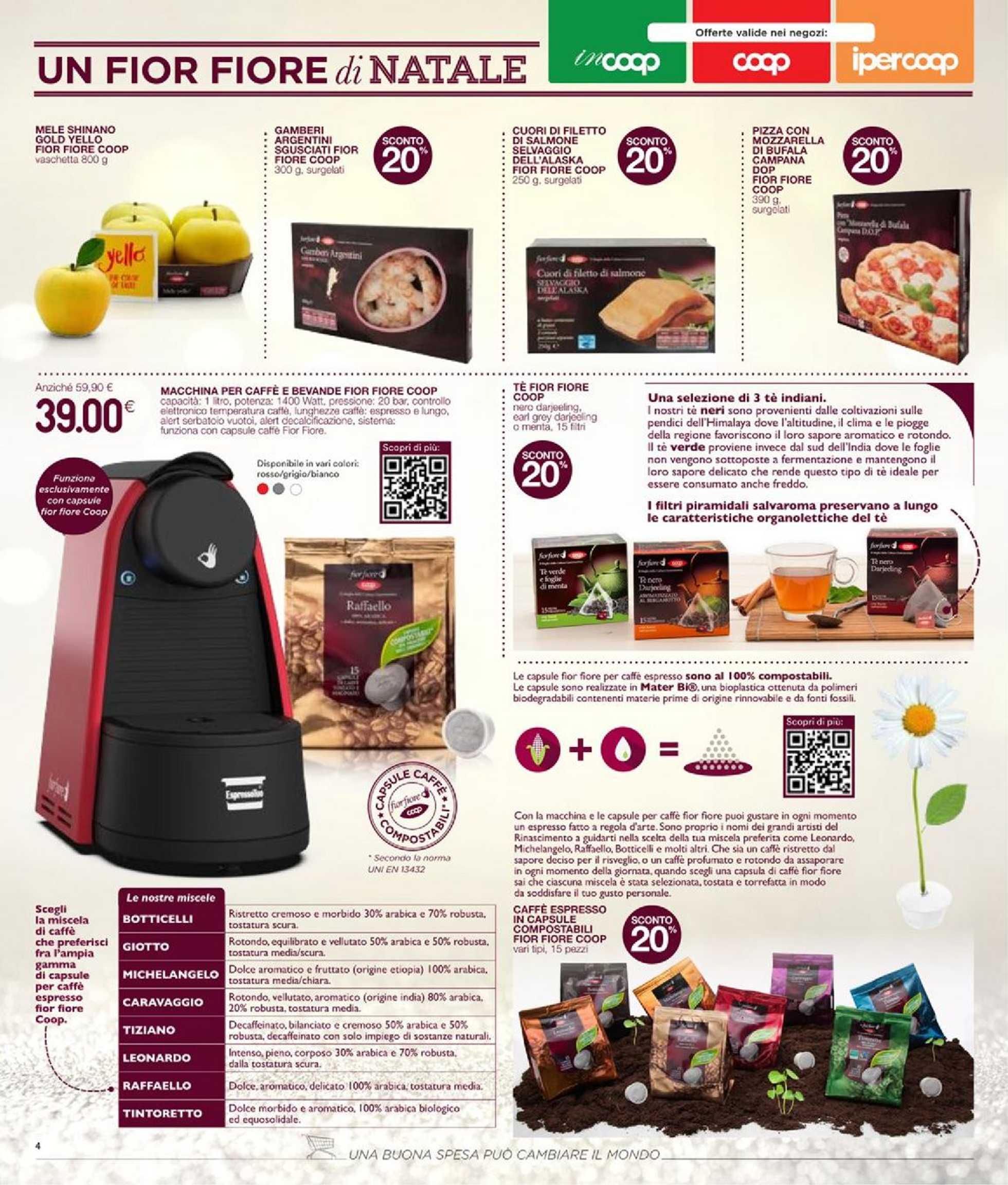 Coop Centro Italia - offerte valide dal 23.11.2020 al 02.12.2020 - pagina 4.