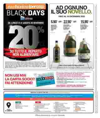 Coop Centro Italia - offerte valide dal 23.11.2020 al 02.12.2020 - pagina 40.