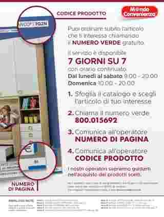 Mondo Convenienza - offerte valide dal 13.01.2020 al 19.04.2020 - pagina 125.