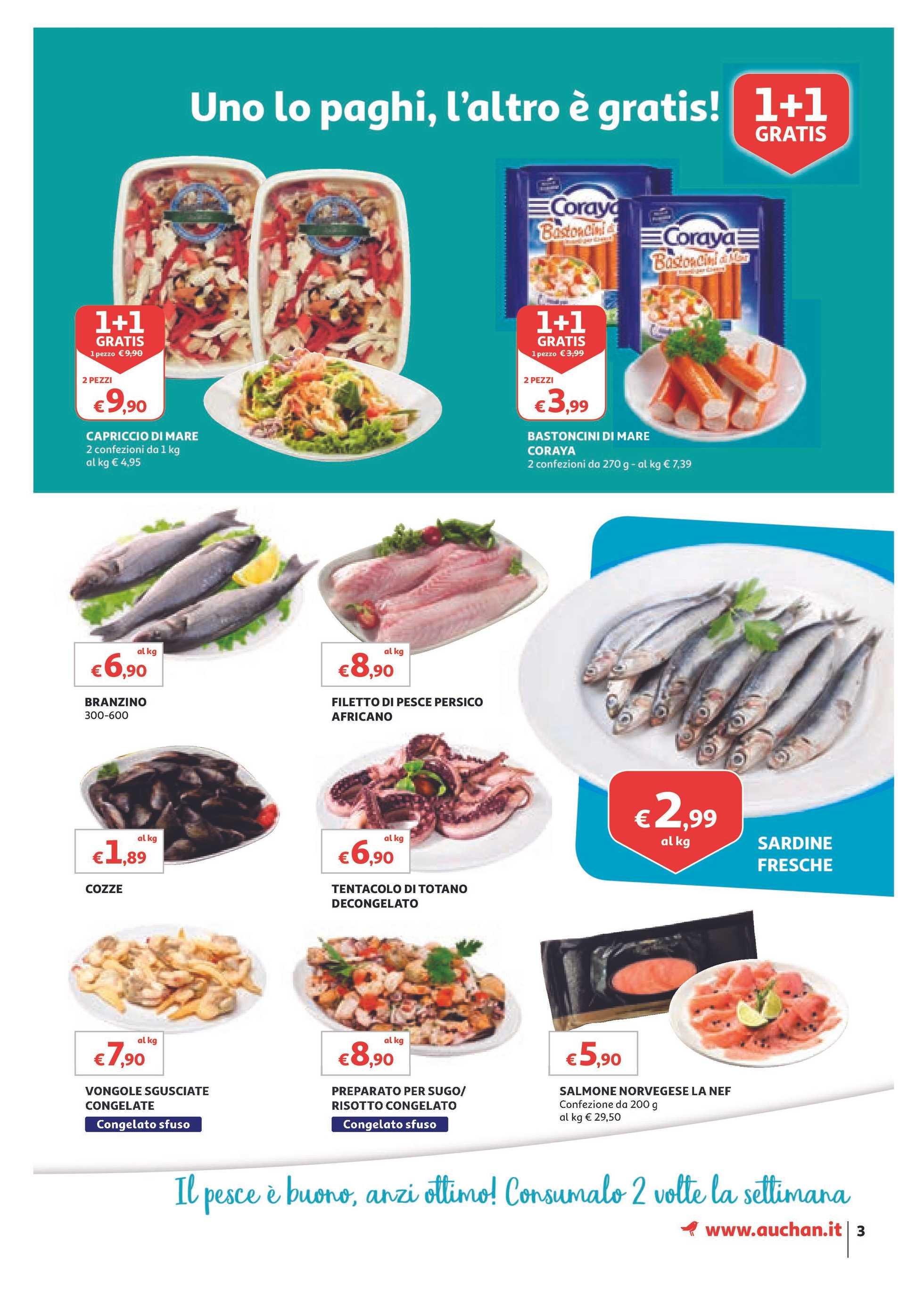 Auchan - offerte valide dal 01.03.2019 al 10.03.2019 - pagina 3.