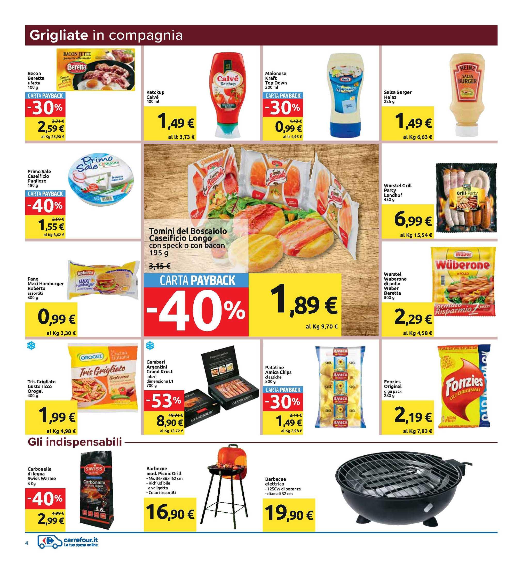 Carrefour Iper - offerte valide dal 07.08.2020 al 18.08.2020 - pagina 4.