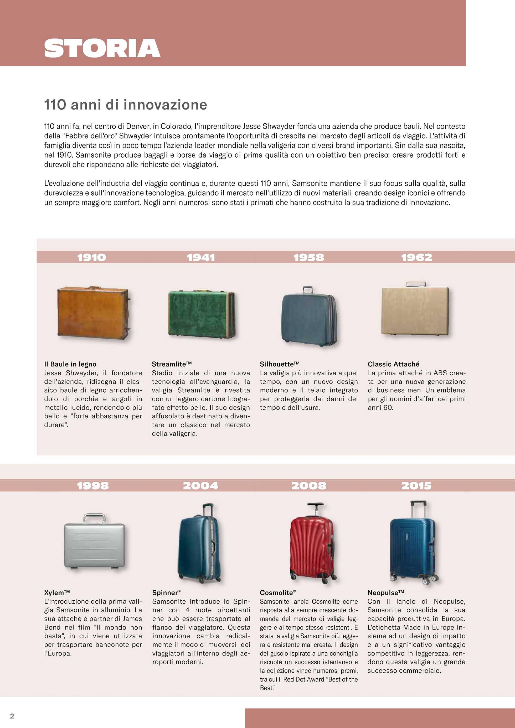 Samsonite - offerte valide dal 01.03.2020 al 31.12.2020 - pagina 4.