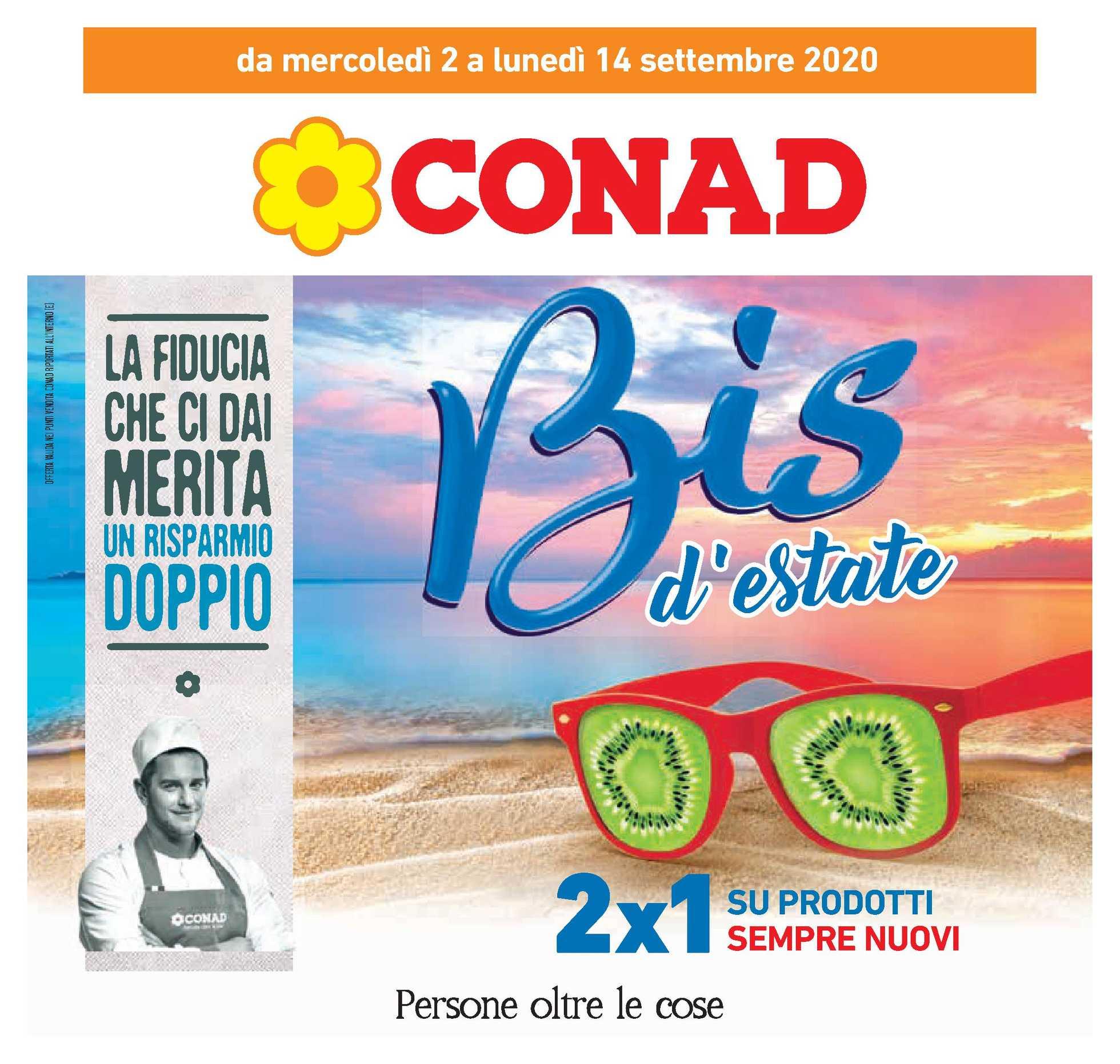 Conad - offerte valide dal 02.09.2020 al 14.09.2020 - pagina 1.