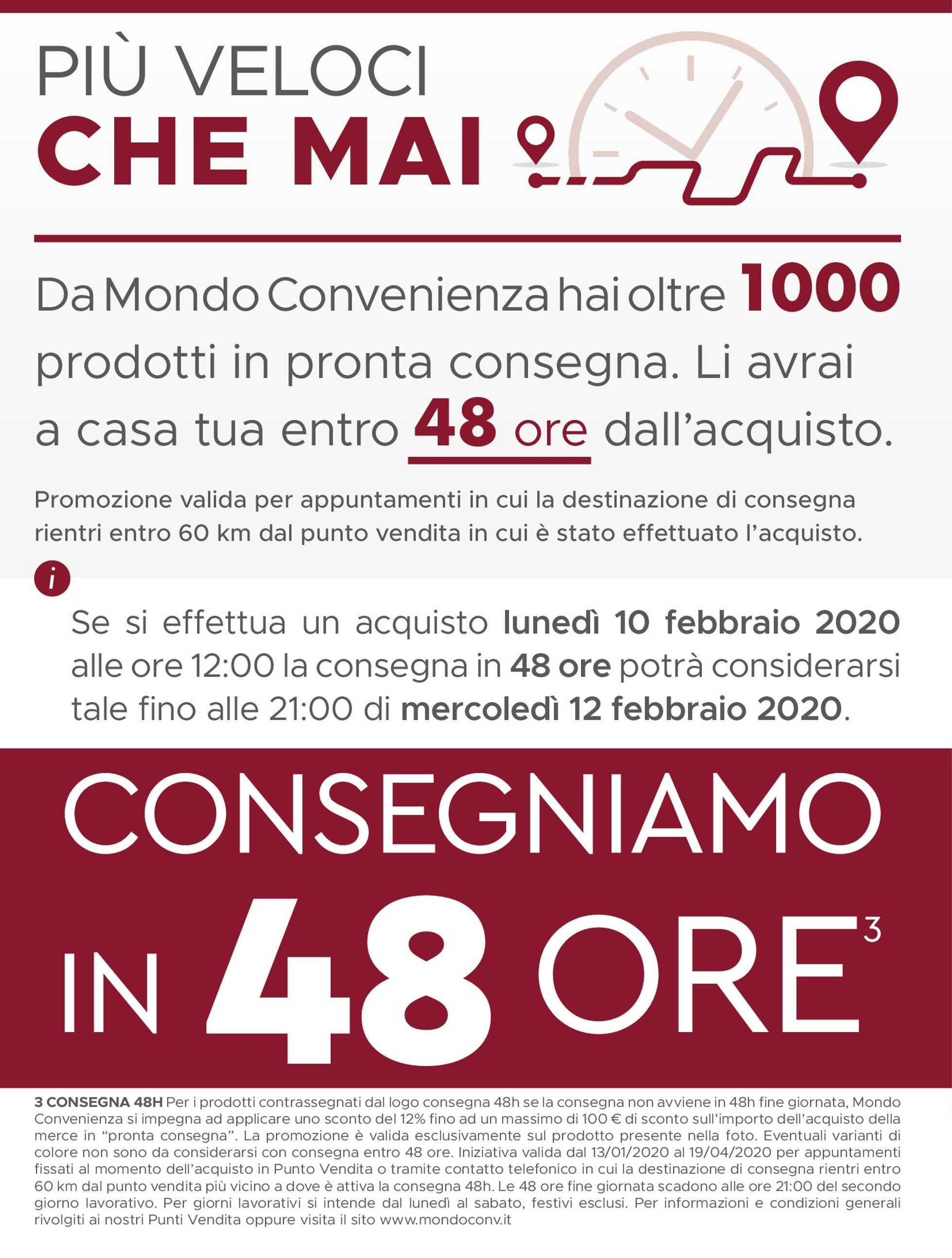 Mondo Convenienza - offerte valide dal 13.01.2020 al 19.04.2020 - pagina 2.
