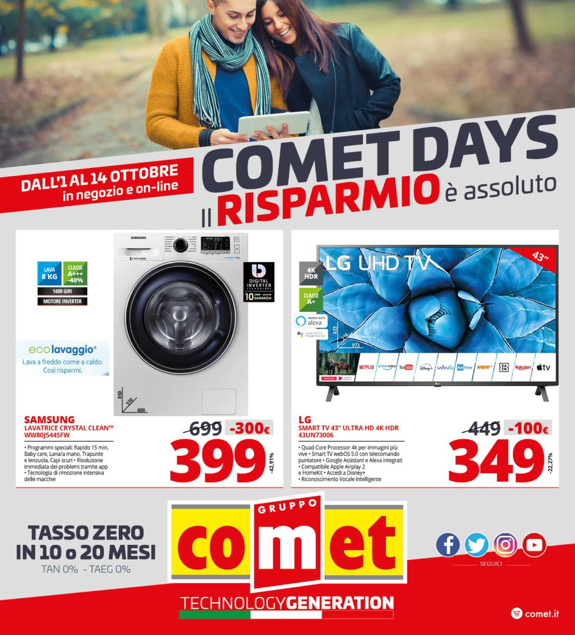 Comet - offerte valide dal 01.10.2020 al 14.10.2020 - pagina 1.