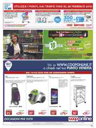 Ipercoop (Coop Alleanza) - offerte valide dal 14.02.2019 al 28.02.2019 - pagina 39.