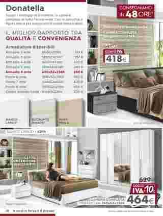 Mondo Convenienza - offerte valide dal 13.01.2020 al 19.04.2020 - pagina 20.