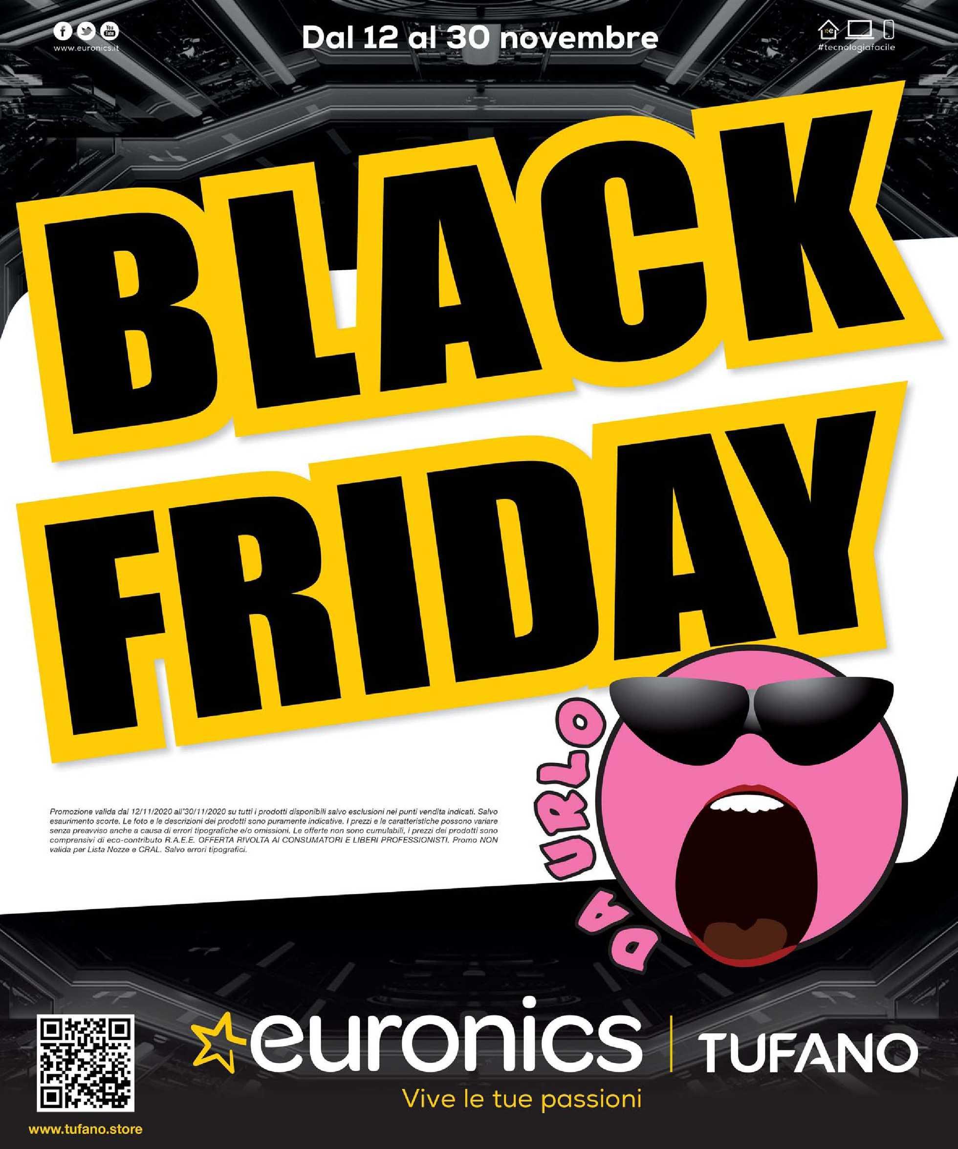 Euronics Tufano - offerte valide dal 12.11.2020 al 30.11.2020 - pagina 1.