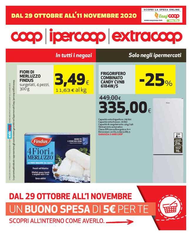 Ipercoop (Coop Alleanza) - offerte valide dal 29.10.2020 al 11.11.2020 - pagina 1.