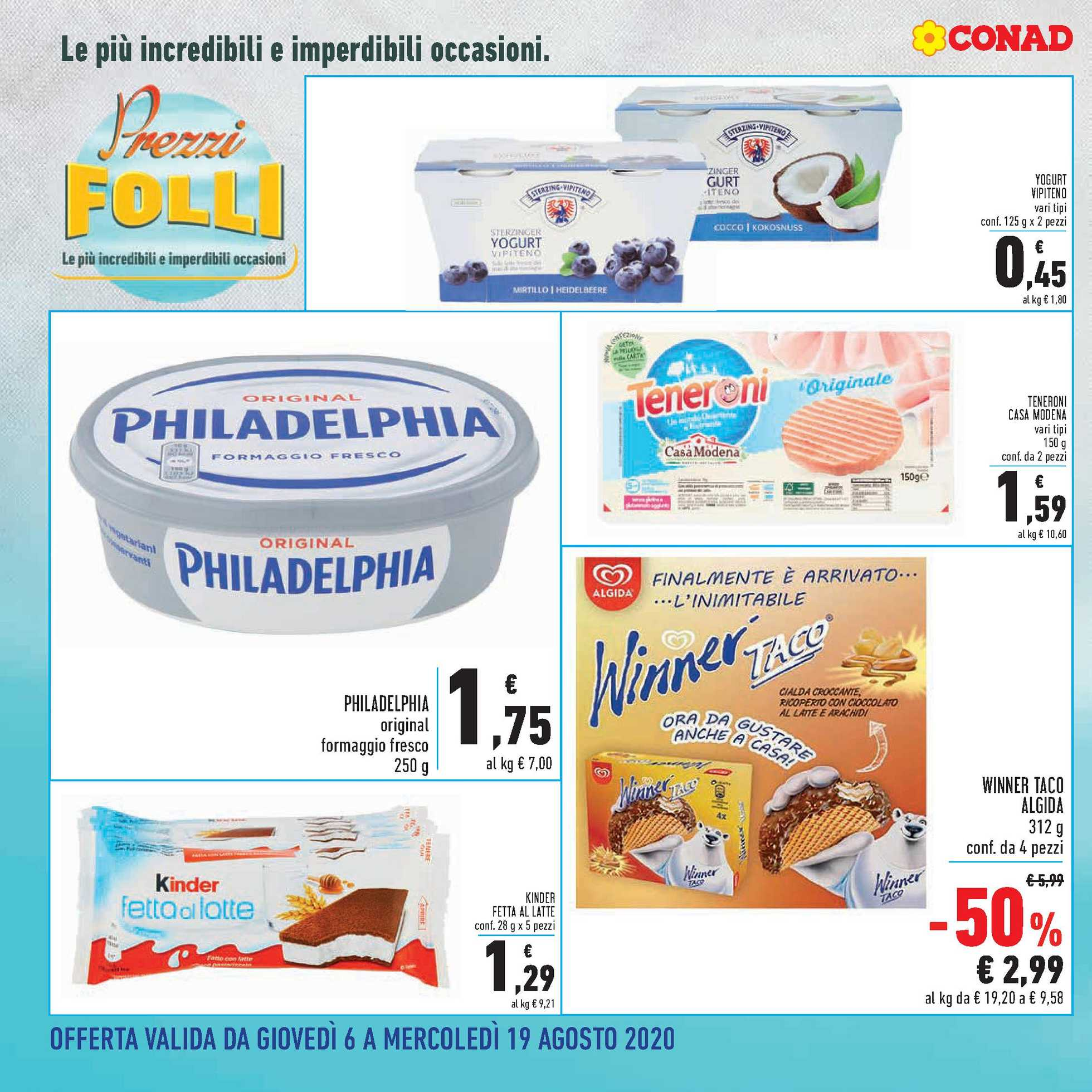 Conad - offerte valide dal 06.08.2020 al 19.08.2020 - pagina 2.