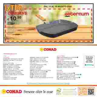 Conad - offerte valide dal 06.08.2020 al 19.08.2020 - pagina 28.
