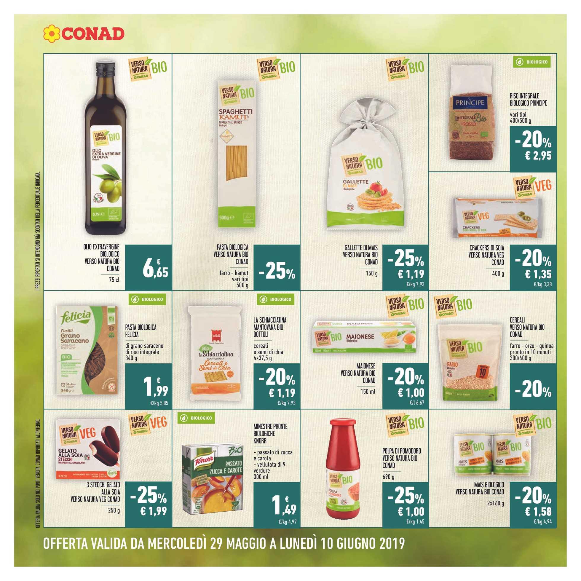 Conad - offerte valide dal 29.05.2019 al 10.06.2019 - pagina 4.