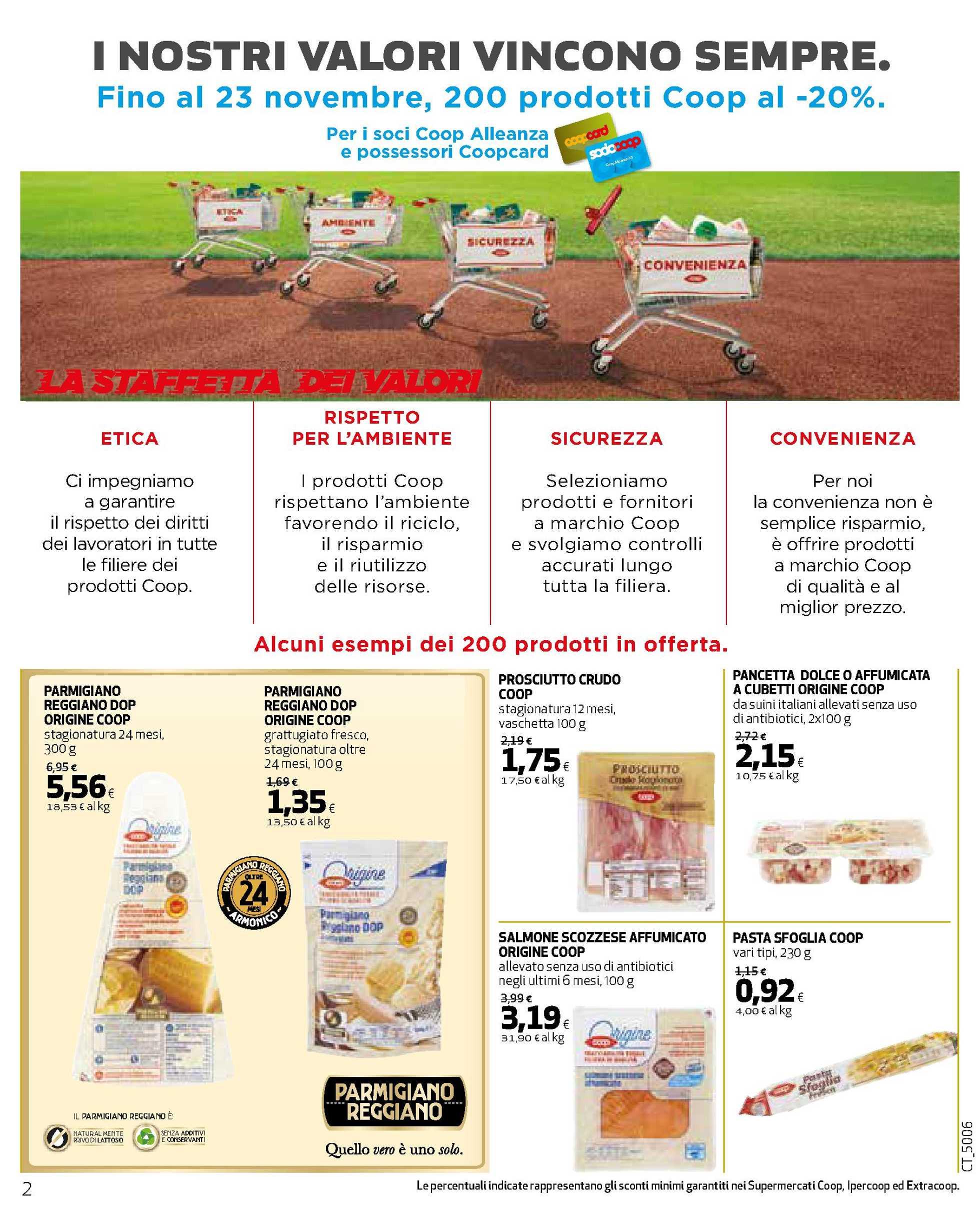 Ipercoop Sicilia - offerte valide dal 29.10.2020 al 11.11.2020 - pagina 2.