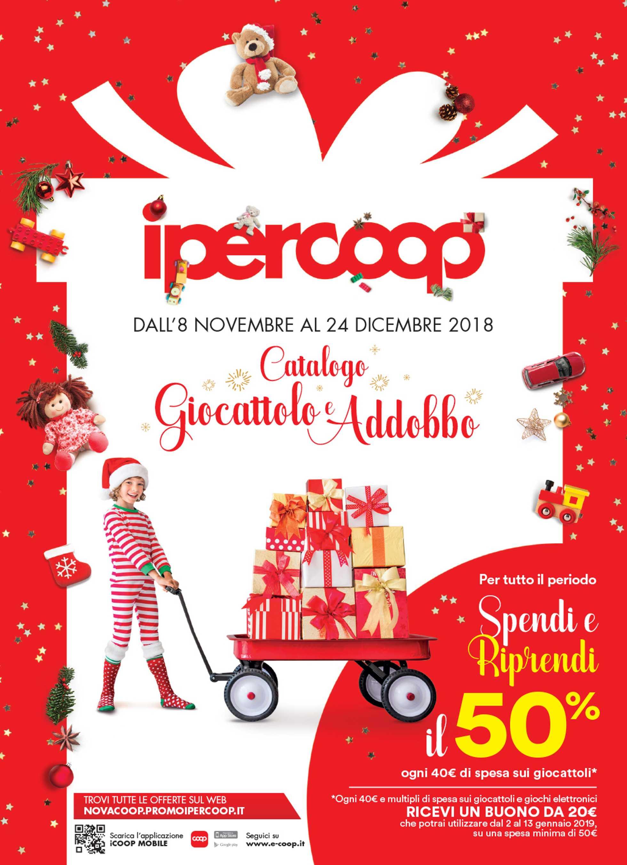 Ipercoop (Coop Alleanza) - offerte valide dal 08.11.2018 al 24.12.2018 - pagina 1.