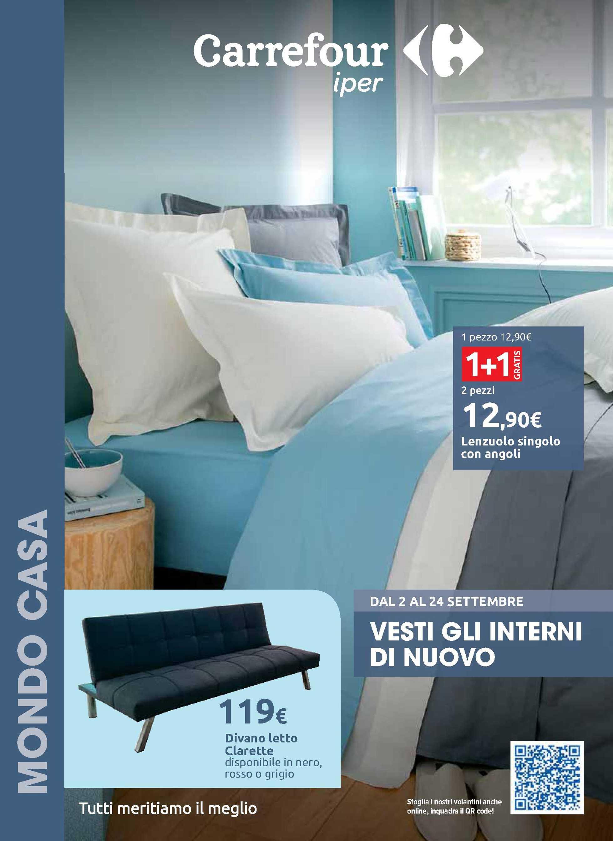 Carrefour Iper - offerte valide dal 02.09.2020 al 24.09.2020 - pagina 1.