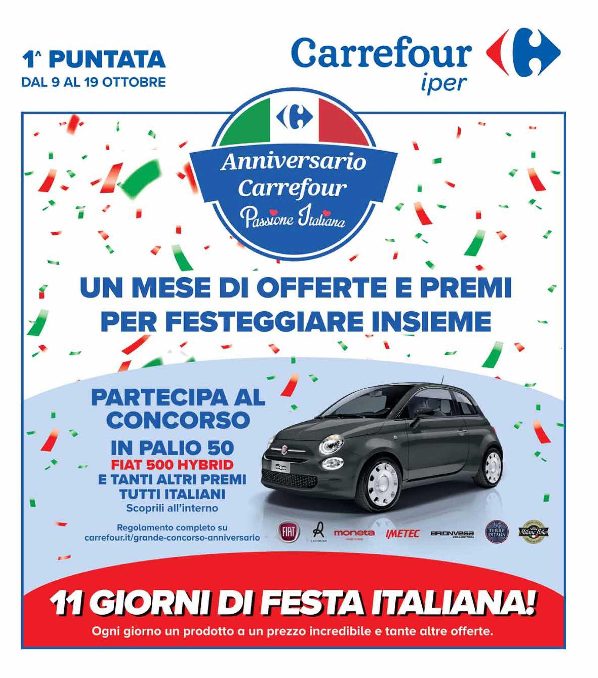 Carrefour Iper - offerte valide dal 09.10.2020 al 19.10.2020 - pagina 1.