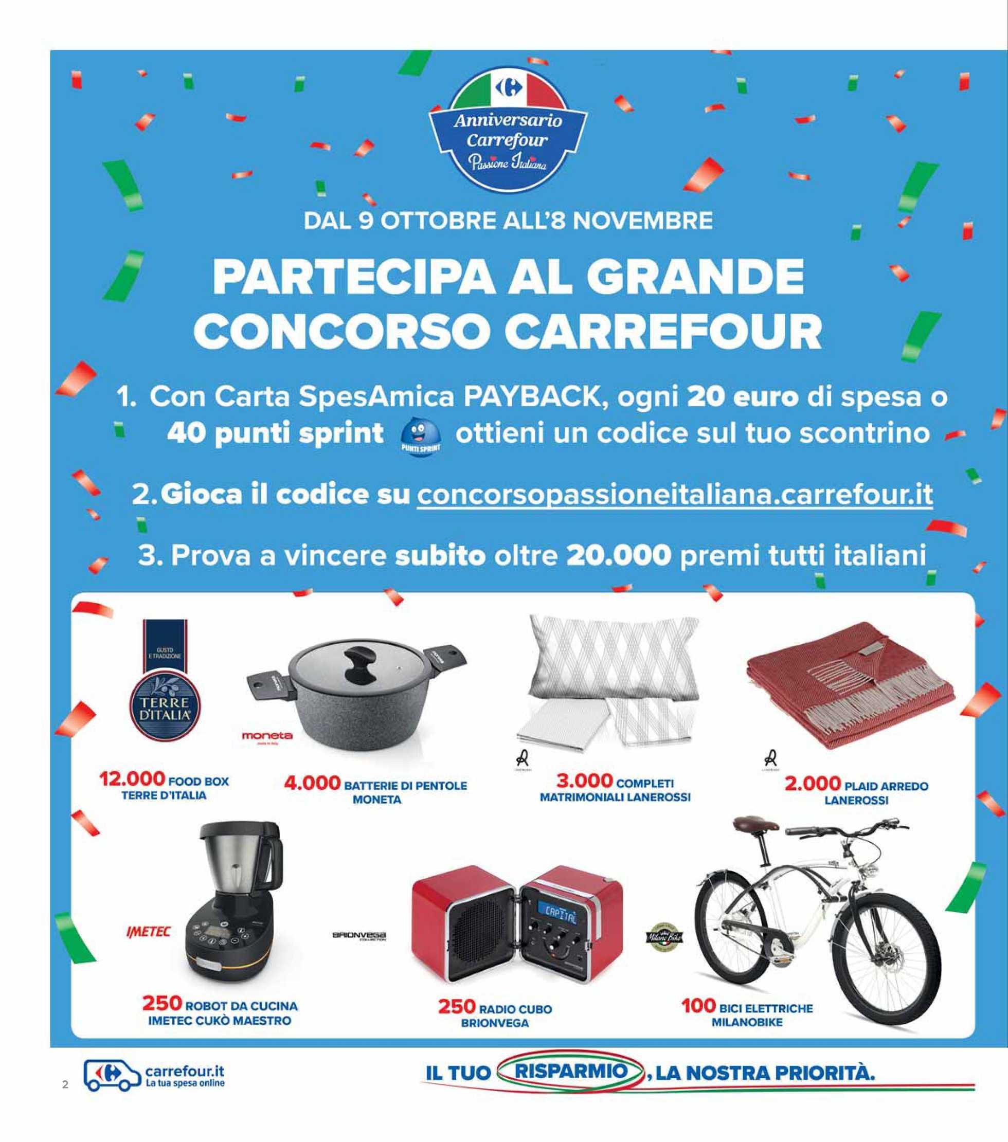 Carrefour Iper - offerte valide dal 09.10.2020 al 19.10.2020 - pagina 2.