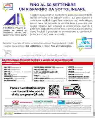 Coop Alleanza 3.0 - offerte valide dal 17.09.2020 al 30.09.2020 - pagina 16.