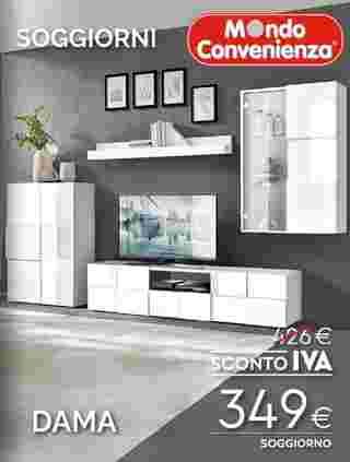 Mondo Convenienza - offerte valide dal 02.09.2020 al 06.01.2021 - pagina 18.