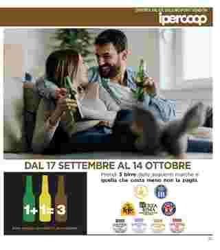Ipercoop (Coop Alleanza) - offerte valide dal 17.09.2020 al 30.09.2020 - pagina 21.