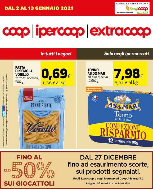 Ipercoop (Coop Alleanza) - offerte valide dal 02.01.2021 al 13.01.2021 - pagina 1.