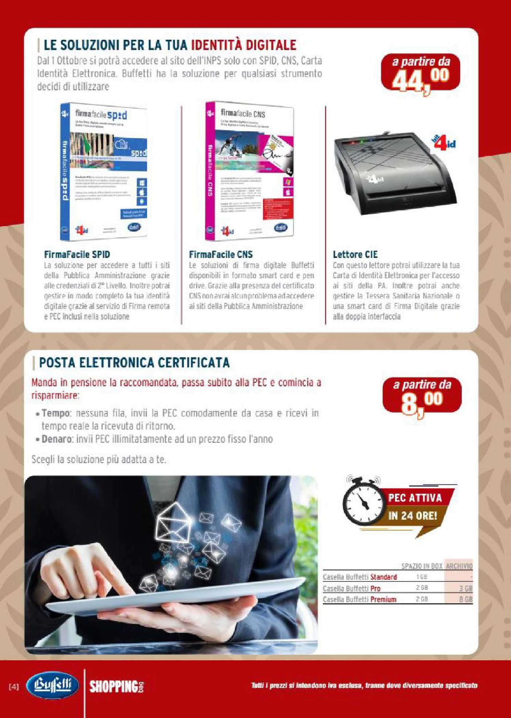 Buffetti - offerte valide dal 01.11.2020 al 31.12.2020 - pagina 4.