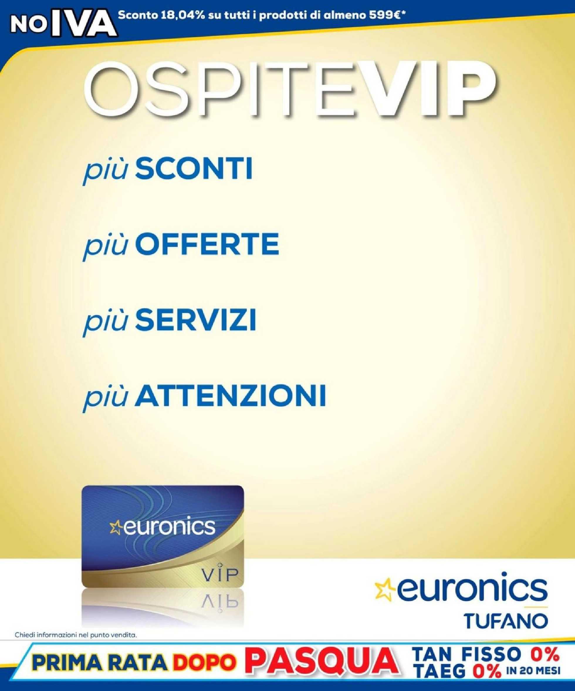 Euronics Tufano - offerte valide dal 15.10.2020 al 28.10.2020 - pagina 4.