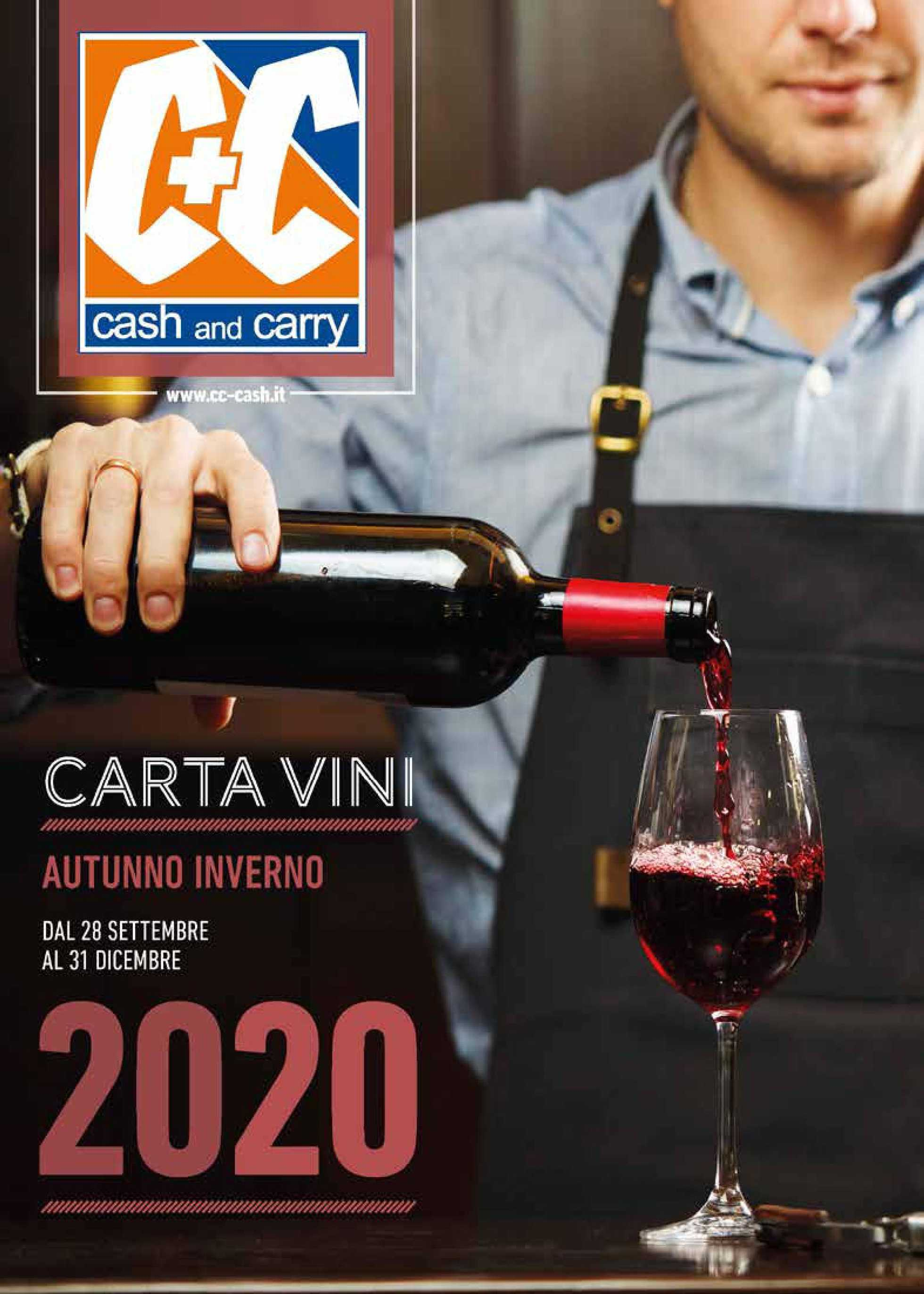 C+C Cash and Carry - offerte valide dal 28.09.2020 al 31.12.2020 - pagina 1.
