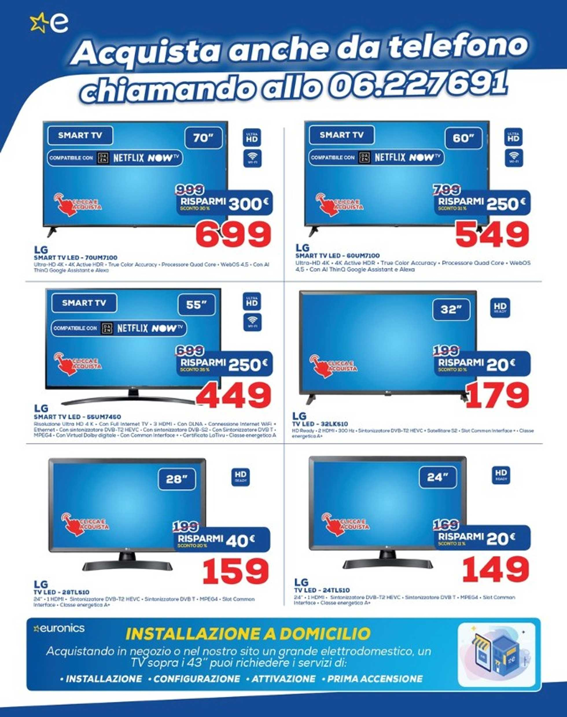 Euronics - offerte valide dal 15.05.2020 al 03.06.2020 - pagina 2. Nel volantino potrai trovare tastiera, mouse, tasso, mouse, tasso, tastiera