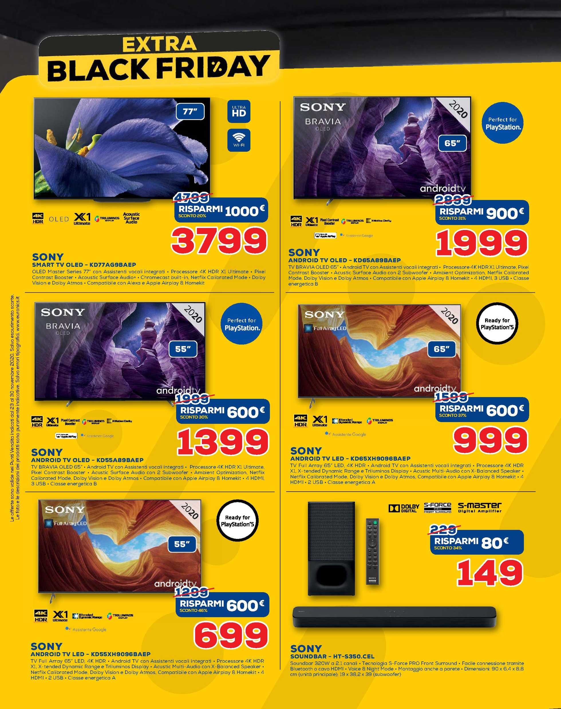 Euronics Nova - offerte valide dal 23.11.2020 al 30.11.2020 - pagina 4.