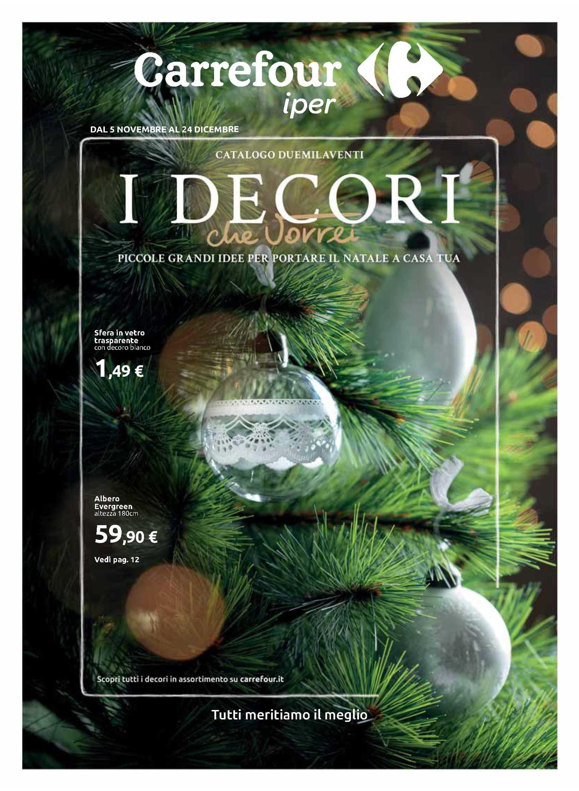 Carrefour Iper - offerte valide dal 05.11.2020 al 24.12.2020 - pagina 1.