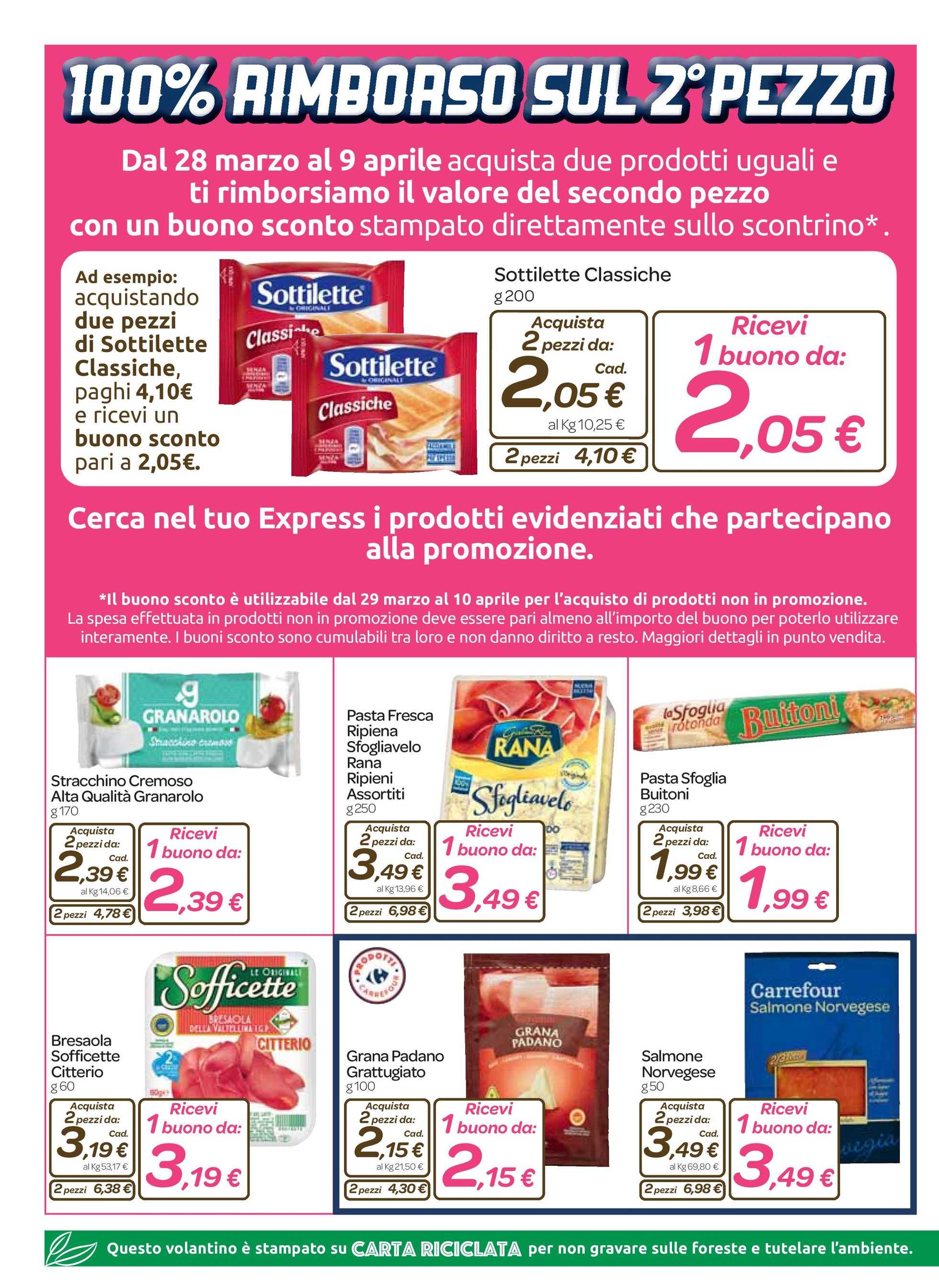 Carrefour Express - offerte valide dal 28.03.2019 al 09.04.2019 - pagina 2.