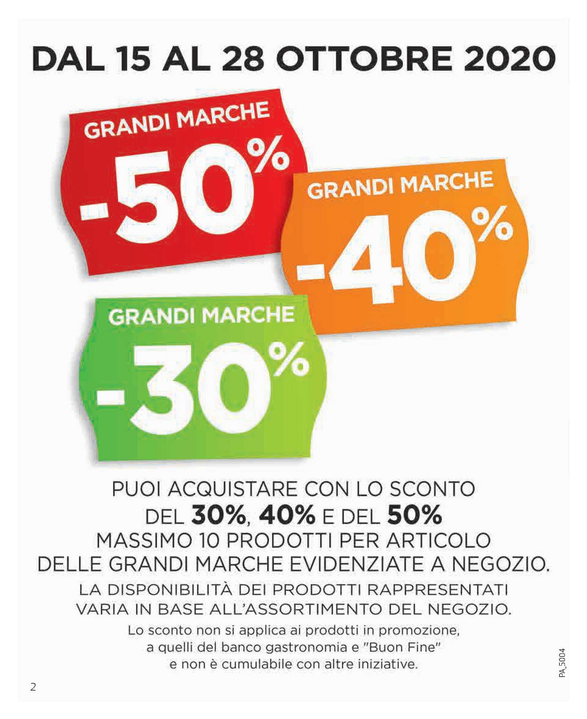 Ipercoop Sicilia - offerte valide dal 15.10.2020 al 28.10.2020 - pagina 2.