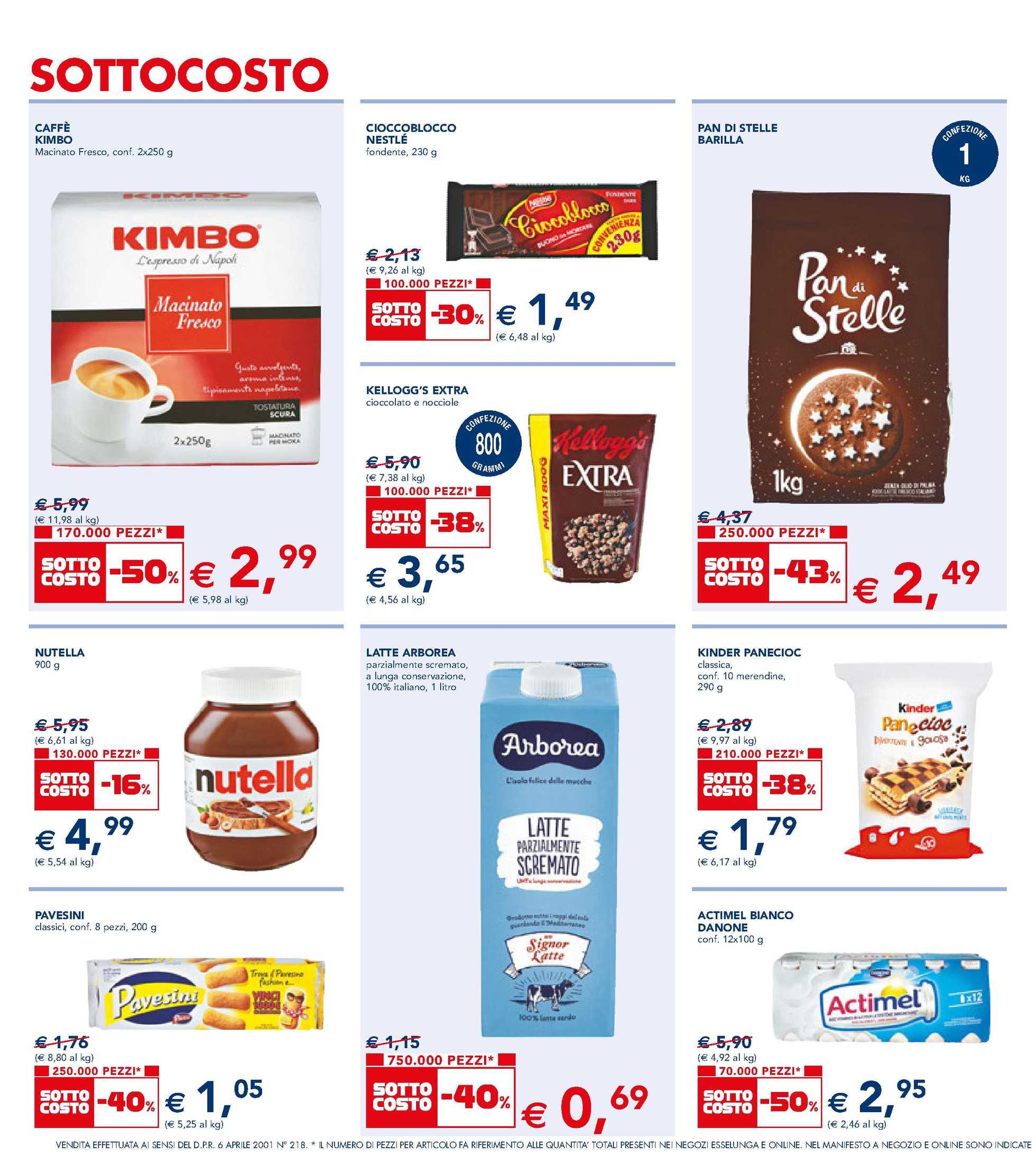 Esselunga - offerte valide dal 03.09.2020 al 12.09.2020 - pagina 4.