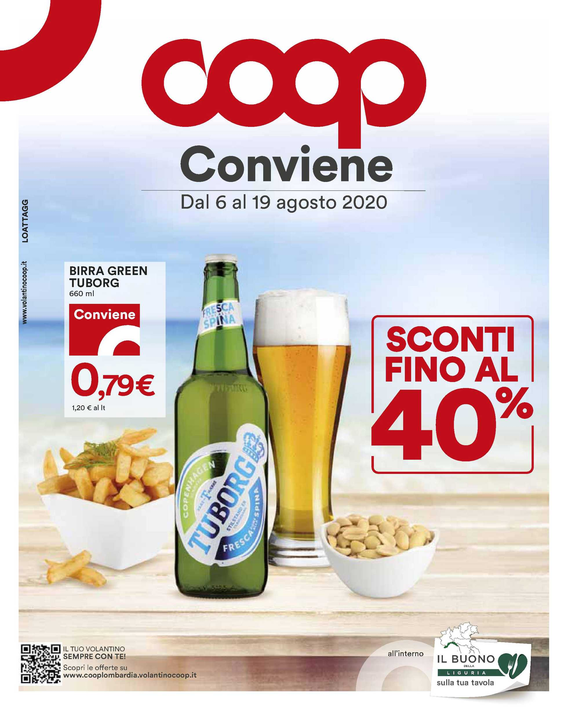 Coop - offerte valide dal 06.08.2020 al 19.08.2020 - pagina 1.