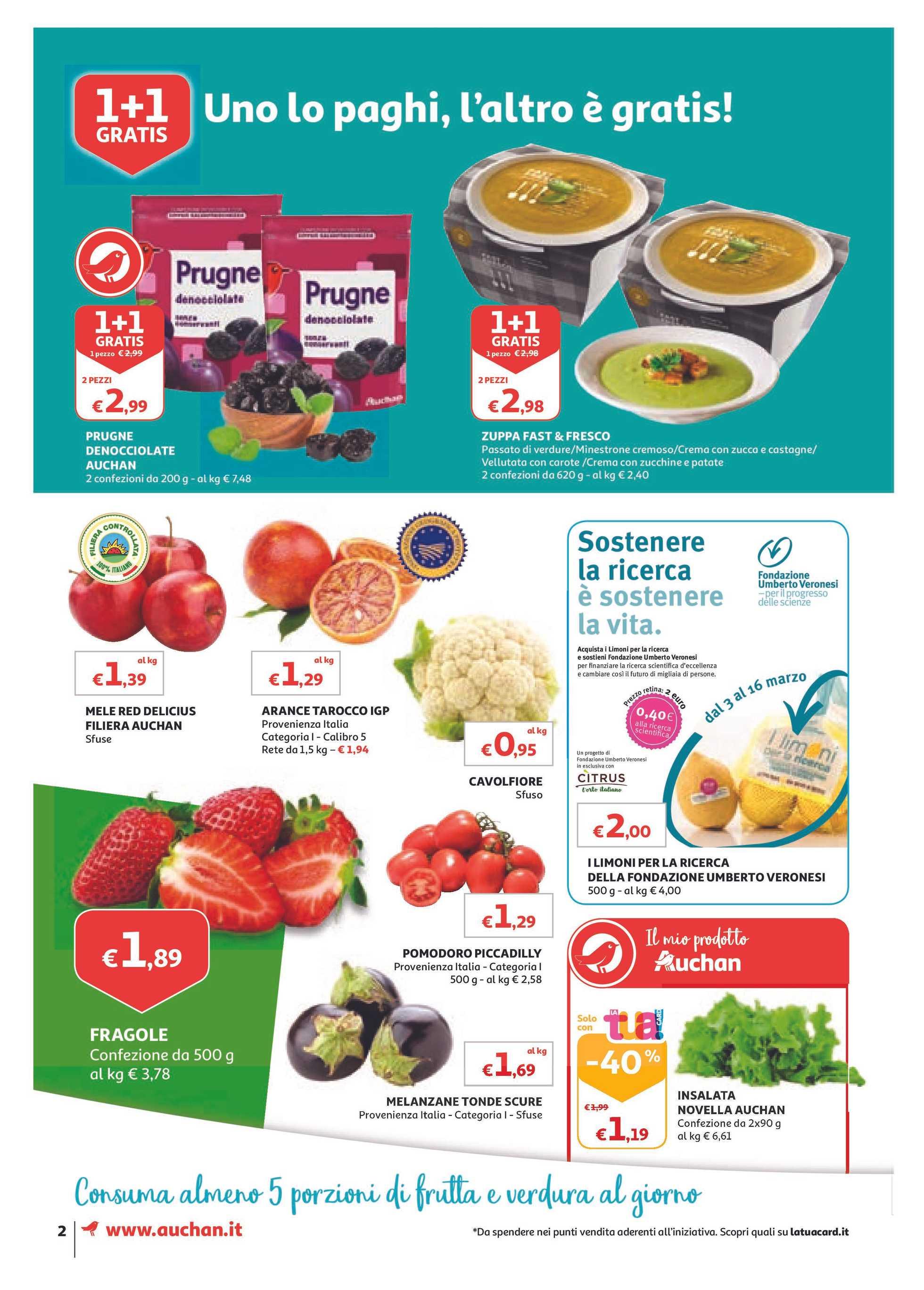 Auchan - offerte valide dal 01.03.2019 al 10.03.2019 - pagina 2.
