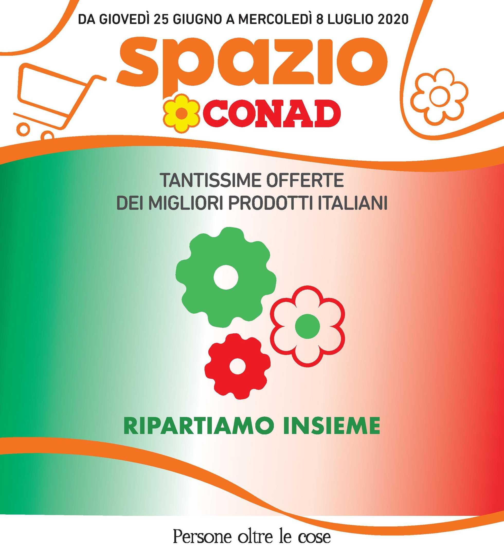 Spazio Conad - offerte valide dal 25.06.2020 al 08.07.2020 - pagina 1.