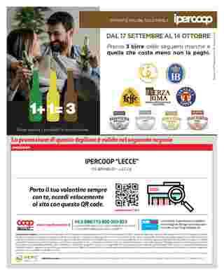 Ipercoop (Coop Alleanza) - offerte valide dal 17.09.2020 al 30.09.2020 - pagina 64.