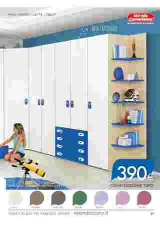 Mondo Convenienza - offerte valide dal 02.09.2020 al 06.01.2021 - pagina 99.
