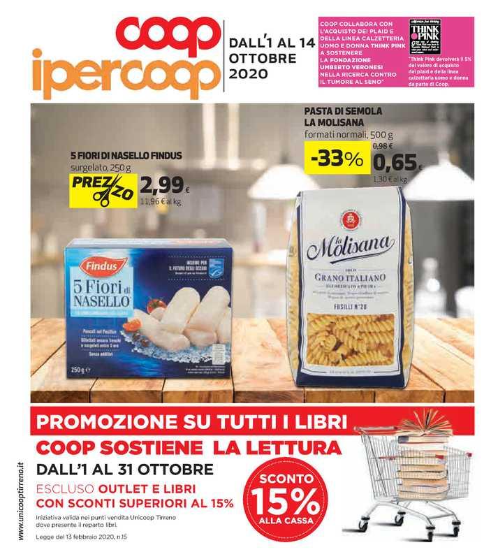 Ipercoop (Coop Alleanza) - offerte valide dal 01.10.2020 al 14.10.2020 - pagina 1.