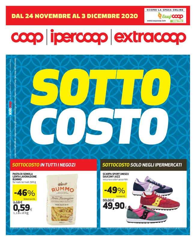 Ipercoop (Coop Alleanza) - offerte valide dal 24.11.2020 al 03.12.2020 - pagina 1.