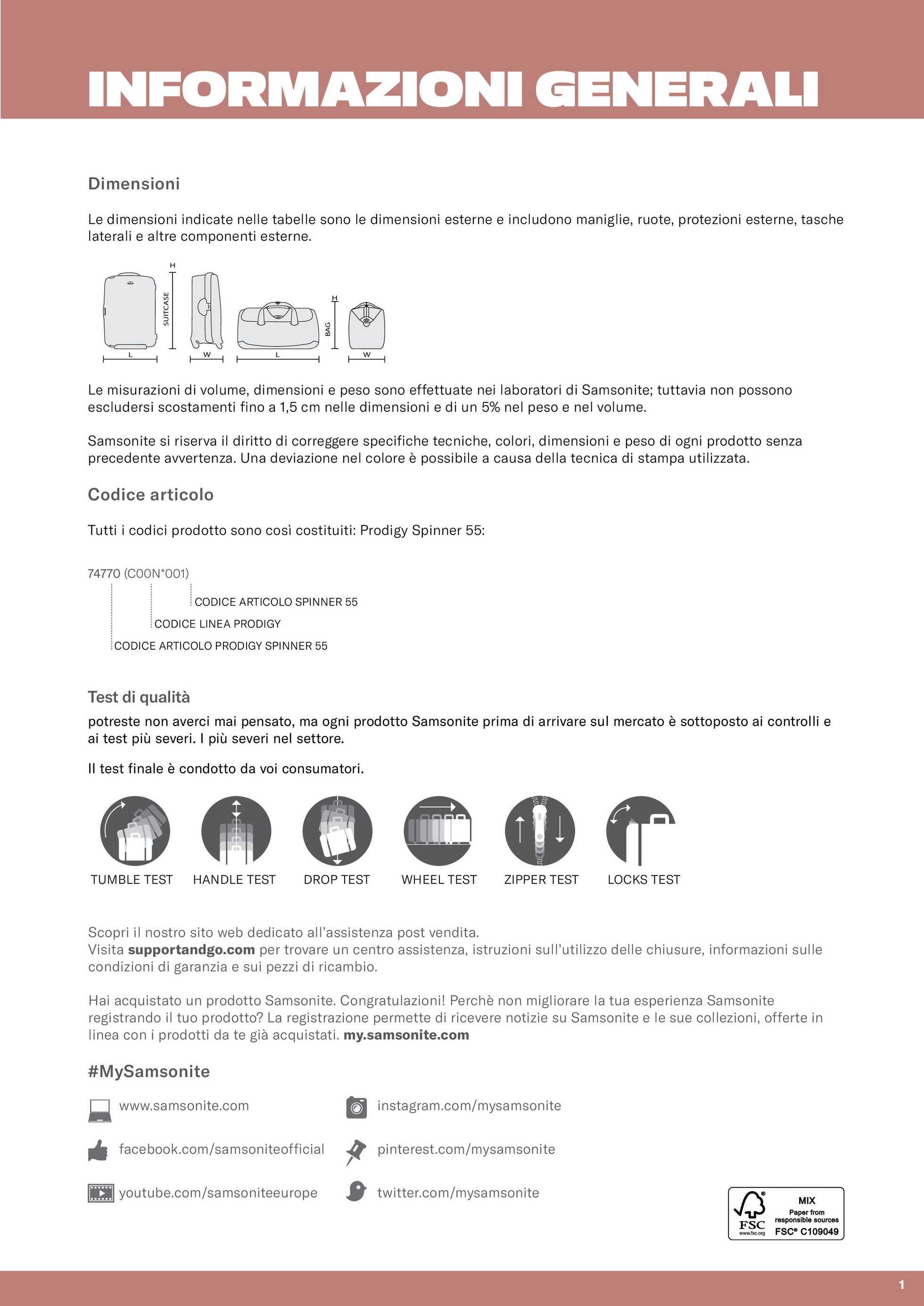 Samsonite - offerte valide dal 01.03.2020 al 31.12.2020 - pagina 3.