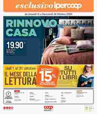 Coop Centro Italia - offerte valide dal 15.10.2020 al 28.10.2020 - pagina 40.