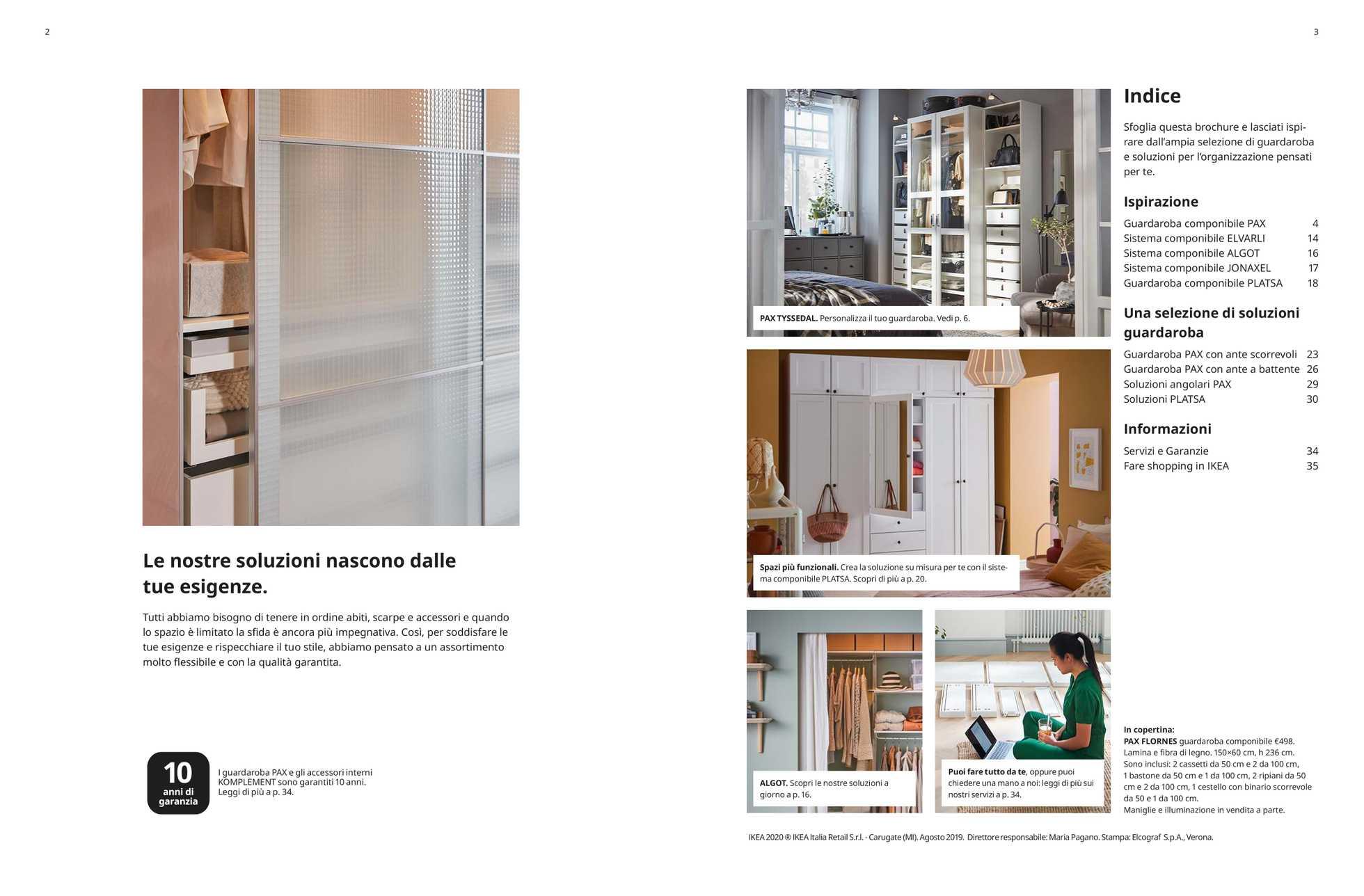 Catalogo Armadi Ikea 2019 Ante Scorrevoli.Volantino Ikea Le Ultime Offerte It Promotons Com