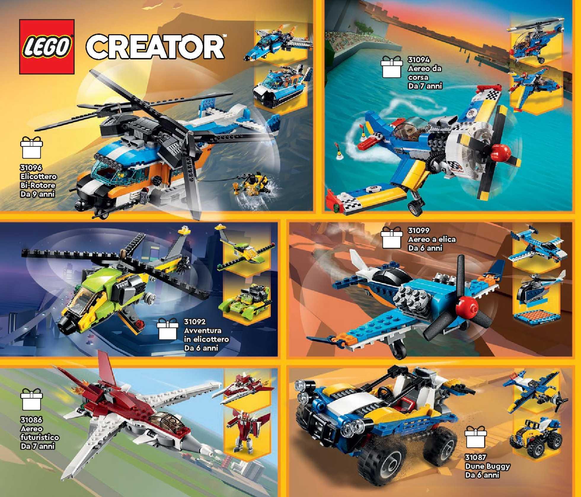 Lego - offerte valide dal 01.07.2020 al 31.12.2020 - pagina 2.