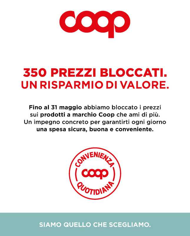 Ipercoop (Coop Alleanza) - offerte valide dal 01.03.2021 al 31.05.2021 - pagina 1.